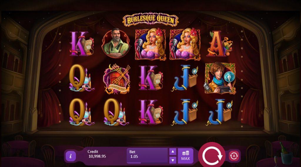 Ігровий автомат Burlesque Queen
