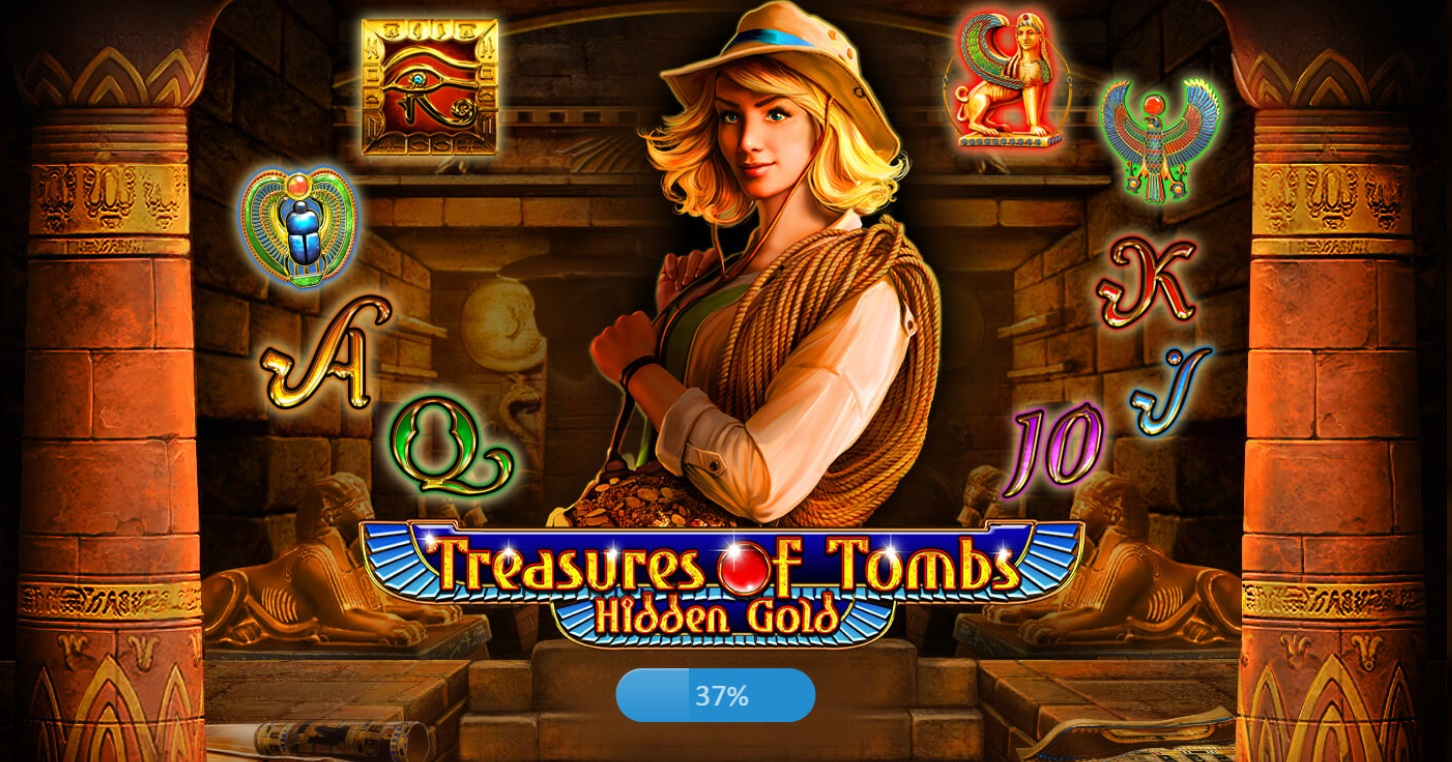 Ігровий автомат Treasures of Tombs Hidden Gold